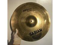 """Sabian AAX Studio Crash - 18"""" - *Great Cond.* £120 ono"""