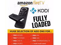 Brand New Amazon Fire TV Stick Fully Loaded KODI XBMC Firestick + Mobdro + Movies + Sports + Live TV