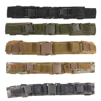 Molle Webbing Military Tactical Duty Waist Belt Combat Gear with Mag Pouches (Duty Belt Gear)
