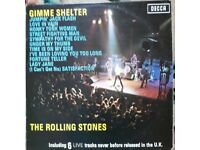 Rolling Stones 'Gimme Shelter ' 1971 original L.P.