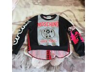 Moschino Jumper top size small medium