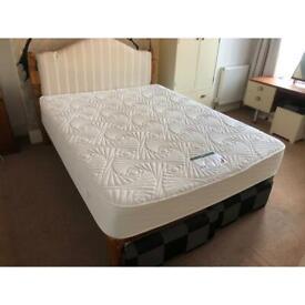 Heavy duty wooden bed