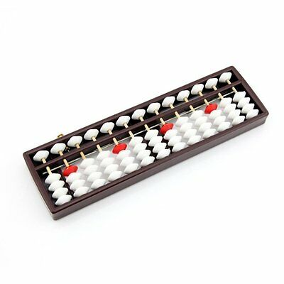 White 13 Columns Plastic Abacus Education Math Learning Tool, used for sale  China