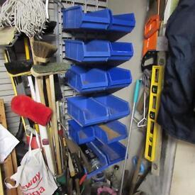 Rack and bins