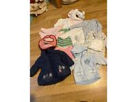 Baby girl winter bundle 3-6 months