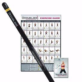 Bodyblade Total Body Exerciser Classic Kit - Black, 122 cm