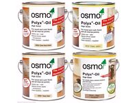 Osmo Polyx Hard Wax Oil 3032/3044/3062/3065 2.5Ltr