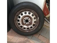 4x tyres and rims 175/6515