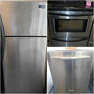 STAINLESS STEEL KITCHEN APPLIANCE SET