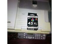 Printers 3 in 1 & ink cartridges New