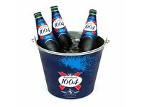 Job Lot 5x Kronenbourg 1664 Ice Bucket