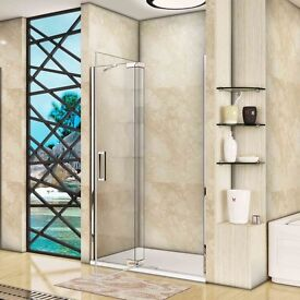 Pivot Door Shower Enclosure Easy Clean Safety Glass
