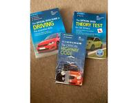 DVSA official guides for driving tests. Theory and practical with high way code