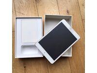 iPad Mini 4 128Gb Wi-Fi + Cellular —Opened, unused (in film) — GOLD