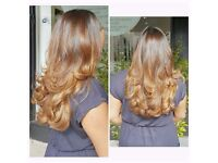 FREELANCE MOBILE HAIRSTYLIST London specialising in colour and cuts.