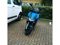 Gilera Runner st200 reg as 125 blue wraped angle eyes