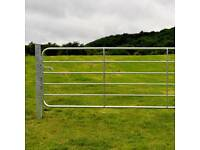 14ft Farm garden gate galvanised