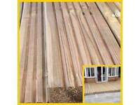 4.8mtr pressure treated decking £8