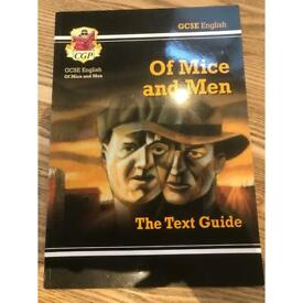 GCSE English Literature Of Mice and Men Text guide