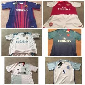 Football Shirts 2017/2018 adult/children.