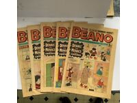 Beano and Dandy comics