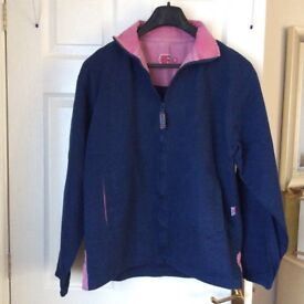 Ladies Deal stylish, fashionable Fisherman's smock top. Size small