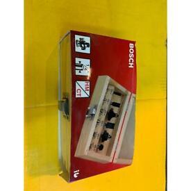 Router set, Bosch 6 piece