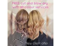 FREE CUT AND BLOW DRY *Hair appointments available , Norwich city centre