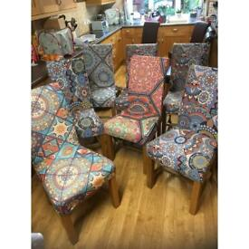 Oak Furniture Land chairs -Recovered