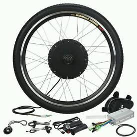 Bike electric motor conversion 1000watts quick!!