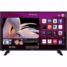 "BRAND NEW 43"" Smart 4K Ultra HD with Freeview & Freeview HD Play TV"
