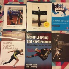 Sport Science degree level books