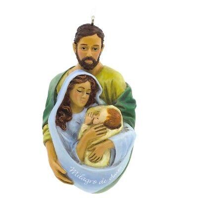Hallmark Vida Nativity Miracle of Love Jesus Mary Joseph Ornament  Xmas Spanish - Miracle Of Jesus