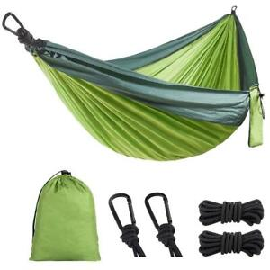 Portable Parachute Hammock - Lightweight for Outdoor or Indoor, Camping & Hiking