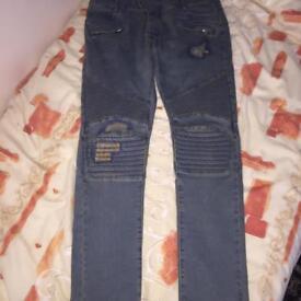 Balmain jeans and Balmain cap