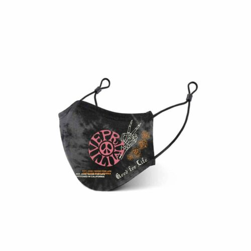 Primitive Skateboards GFL Black Cotton Smart Antibacterial Face Mask