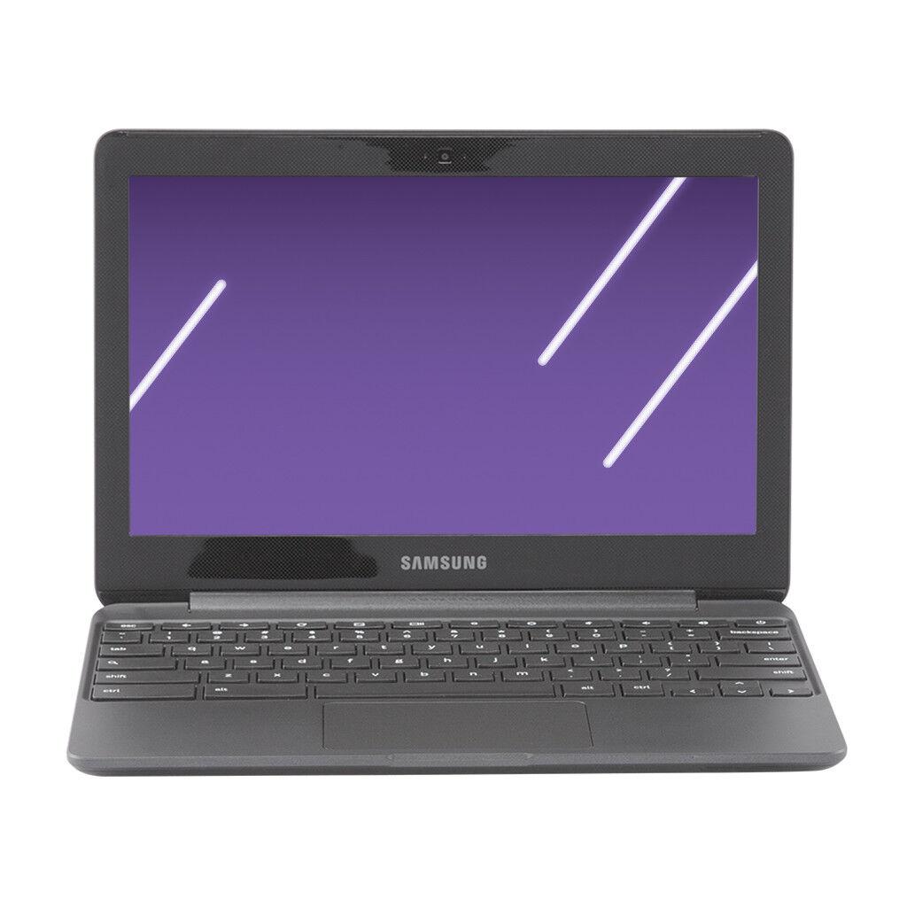 New! Samsung 11.6 Inch Chromebook 3, Intel Celeron N3060, 4GB Memory, 16GB eMMC