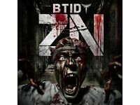 BTID Zombie nation VIP tickets with coach transfers