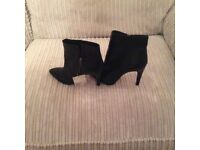 Black brand new ankle boots -size 6