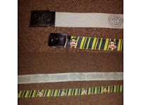2 MENS BELTS 45 & 49 INCHES