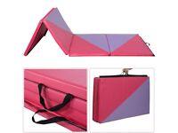 Costway UK Triangular Splicing Thick Folding Panel Gymnastics Mat
