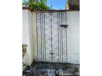 Wrought Iron Side Gate