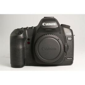 Little used Canon EOS 5D II camera body only.