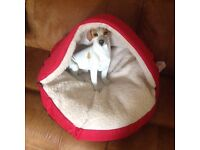 Pet cave suitable for cat or small dog