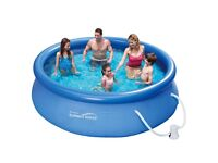 Summer Waves 10FT Round Ring Pool & Set - Only £50
