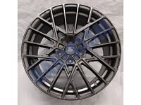 F11* 4X NEW ALLOY WHEELS 18 INCH ALLOYS GREY BLACK FORD FOCUS MONDEO KUGA S MAX C MAX ST RS