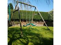 TP swing set with Skyrider