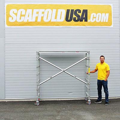 Scaffold Usa 7 Ft Folding Aluminum Scaffold Tower