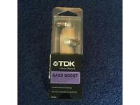 TDK Bass Boost Headphones