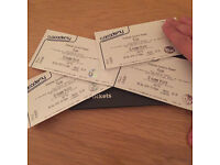 4x standing tickets for Pixies at Brixton Academy on Tuesday 6 December